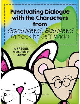Punctuating Dialogue with Characters from Good News, Bad News