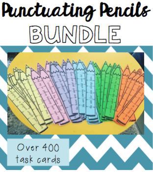 Punctuating Pencils BUNDLE