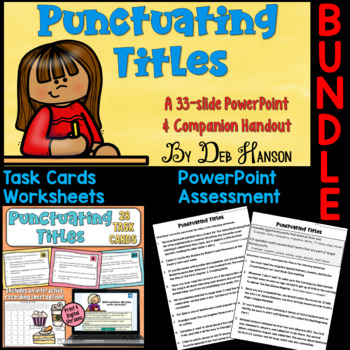 Punctuating Titles Bundle