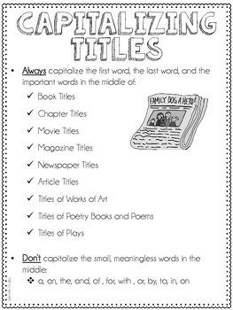 Titles (L.5.2d)
