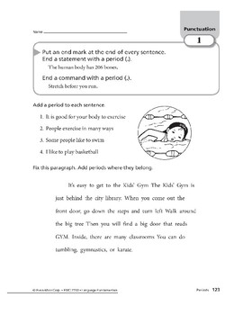 Punctuation 01: Periods and Question Marks