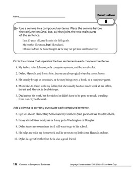 Punctuation 03: Commas in Dates, Addresses, Compound Sentences