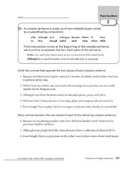 Punctuation 04: Commas in Compound and Complex Sentences