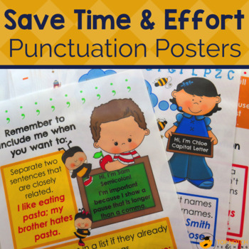 punctuation 10 punctuation posters by top notch teaching tpt. Black Bedroom Furniture Sets. Home Design Ideas