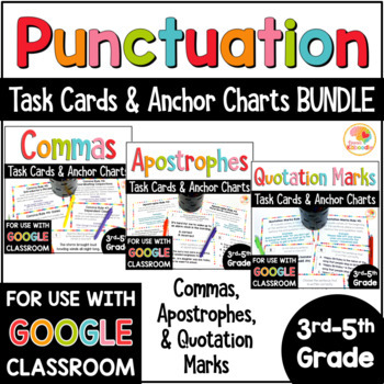 Punctuation Bundle with Commas, Quotation Marks, and Apostrophes