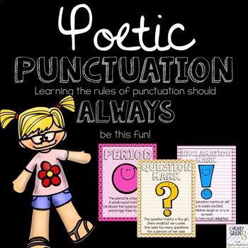 Poetic Punctuation Craftivity