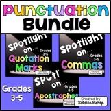Punctuation Task Cards $$$ Savings BUNDLE for Grades 3-5