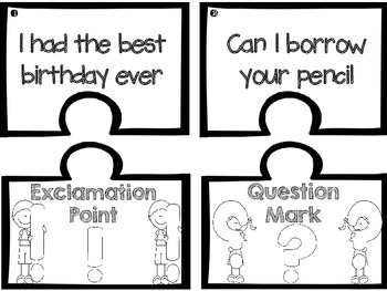 Punctuation Activity Pack!