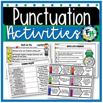 Punctuation Activity Pack (Commas and Periods)