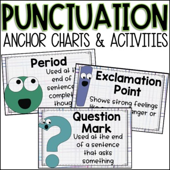 Punctuation Anchor Charts & Practice