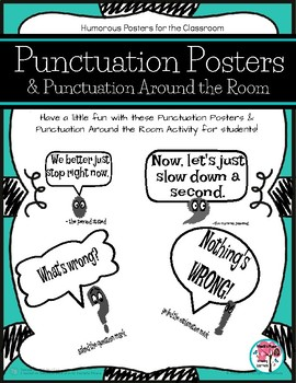 Punctuation Around the Room & Punctuation Posters