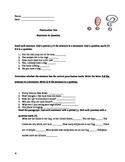 Punctuation Assessment