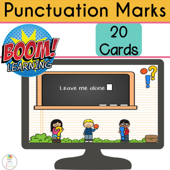 Punctuation BOOM Cards