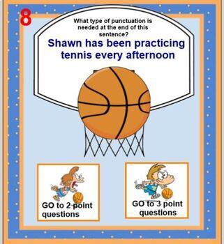 Punctuation Basketball
