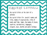 Punctuation Bulletin Board Cards