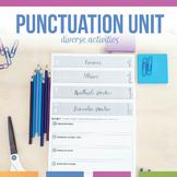 Digital Punctuation Bundle: semicolons, colons, commas, qu