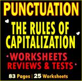 Capitalization Practice   Capital Letters   Worksheets   Assessments   ELA