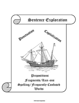 Punctuation & Capitalization/ELA Common Core Skills with F