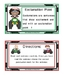 "Punctuation Cards "" Four Wheeling Theme"""