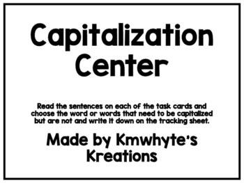 Capitalization Center (Printer Friendly)