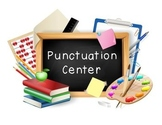 FREE Punctuation Center / Sentence Type Center