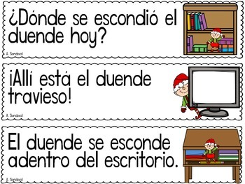Punctuation Center for DECEMBER in Spanish