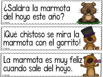 Punctuation Center for FEBRUARY in Spanish