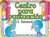 Punctuation Center for SEPTEMBER in Spanish puntuación