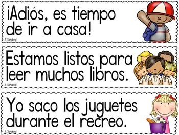Punctuation Center for SEPTEMBER in Spanish puntuación