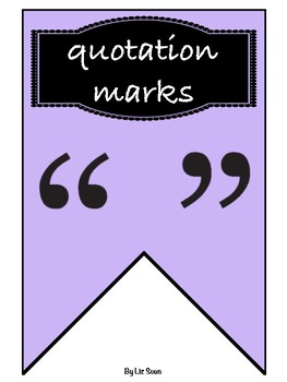Punctuation Classroom Banner