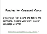 Punctuation Command Cards