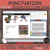 Punctuation DIGITAL Escape Room: Using Google Suite
