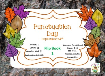 National Punctuation Day Flip Book 1