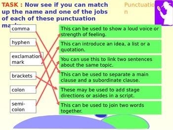 Punctuation Detectives