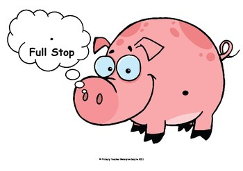 Punctuation Display Posters - Pigs