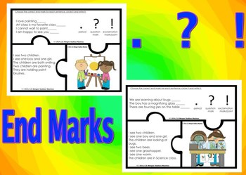 Punctuation - End Marks.