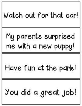Punctuation - English