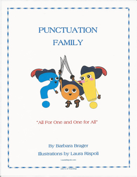 Punctuation Family Character Posters