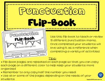 Punctuation - Flip-Book