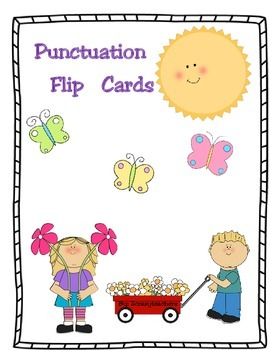 Punctuation Flip (Task)Cards