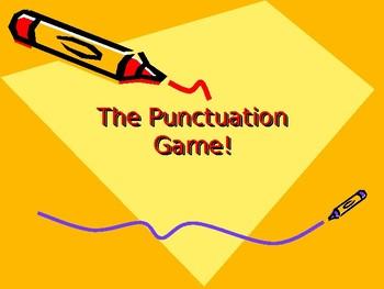 Punctuation Game-Advanced Skills