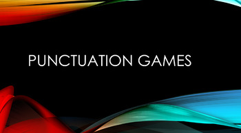 Punctuation Games for Whiteboard