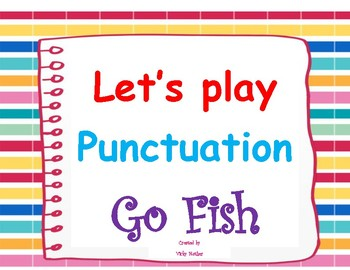 "Punctuation ""Go Fish"""