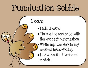 Punctuation Gobble Freebie