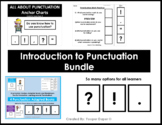 Punctuation Practice Grammar Bundle (Adapted Book and Posters)