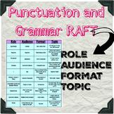 Punctuation & Grammar RAFT for differentiation