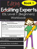 Punctuation, Grammar & Spelling Editing Experts - Book 1 B