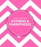 Punctuation: Dashes, Hyphens and Parentheses