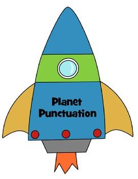 Punctuation Invasion: Punctuation Posters