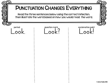 Punctuation: It's Not Just a Formality FREEBIE